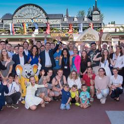 Alle Nominierten erlebten ein spannendes Wochenende im Europa-Park in Rust.