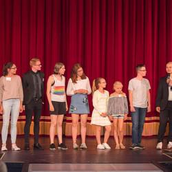 Unser Kinder- und Jugendbeirat hatte das letzte Wort bei den Platzierungen der Preisträger.